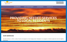 bayshore services website after redesign